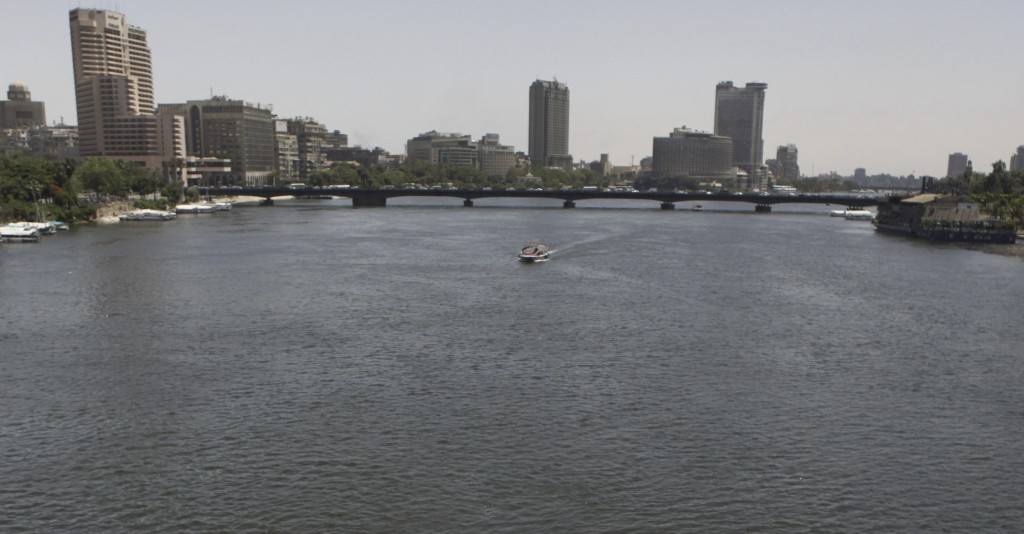 Egyptians youth dances and enjoy a Nile River cruise in Cairo
