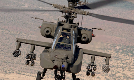 US to deliver 10 Apache helicopters to Egypt