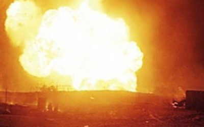 2 natural gas lines explod in 6 October City