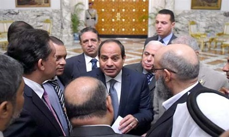 Parliament before end of 2015, Sisi tells political party heads