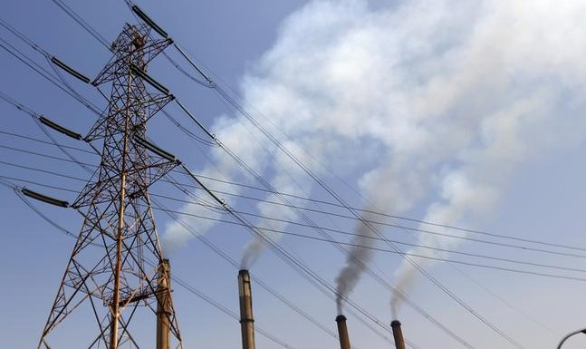 The South Cairo Electricity Distribution Company and power station is pictured at the Imbaba area in Cairo, September 26, 2014. REUTERS/Amr Abdallah Dalsh (EGYPT - Tags: ENERGY)