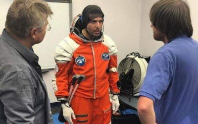 egyptian_trainee_astronaut_omar_samra__tries_on_a_space_suit.